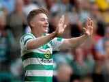 James Forrest in action for Celtic in the Champions League on July 18, 2018
