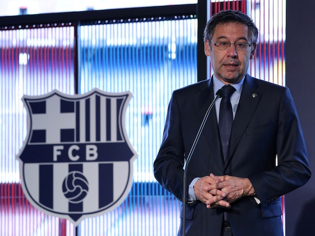Bartomeu refuses to resign as Barcelona president