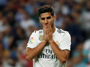 Marco Asensio in action for Real Madrid on September 29, 2018