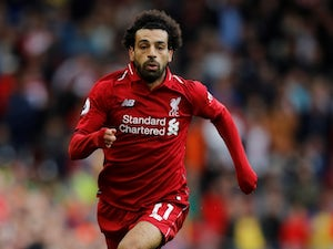 Mohamed Salah in action during Liverpool's Premier League clash with Chelsea on September 29, 2018