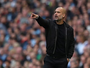 Manchester City manager Pep Guardiola pictured on September 29, 2018