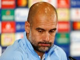Exasperated Manchester City manager Pep Guardiola at a press conference on October 1, 2018