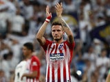Saul Niguez in action for Atletico Madrid on September 29, 2018