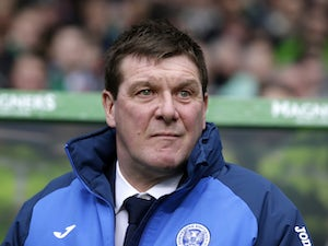 "Tommy Wright hails ""joyous"" St Johnstone win"