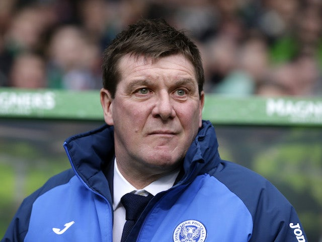 Tommy Wright insists St Johnstone are