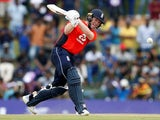 Eoin Morgan in action during the second ODI between Sri Lanka and England on October 13, 2018