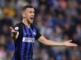 Ivan Perisic in action for Inter Milan on October 7, 2018