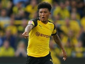 Jadon Sancho in action for Borussia Dortmund on October 6, 2018
