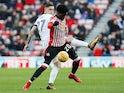 Josh Maja in action for Sunderland