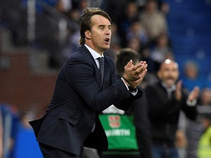 Julen Lopetegui in charge of Real Madrid on October 6, 2018