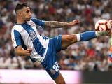 Mario Hermoso in action for Espanyol on September 22, 2018