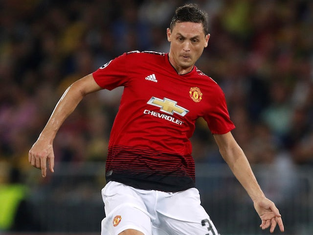 Nemanja Matic in action for Manchester United in the Champions League on September 19, 2018