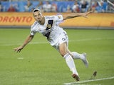 Zlatan Ibrahimovic in action for LA Galaxy on September 15, 2018