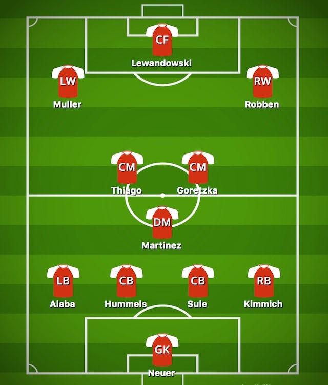 Possible BAY XI vs. AEK