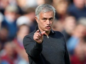 Jose Mourinho makes a 'small penis' gesture on September 29, 2018