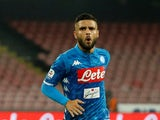 Lorenzo Insigne in action for Napoli on October 7, 2018
