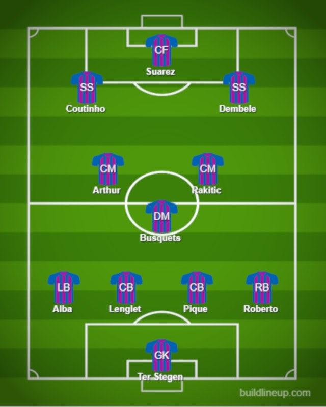 Possible BAR XI vs. INT