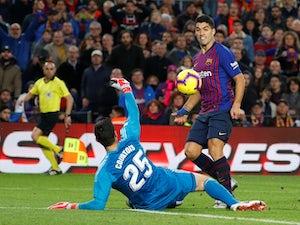Luis Suarez bags brace as Barcelona claim late Rayo Vallecano victory