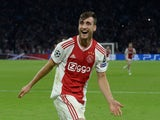 Nicolas Tagliafico in action for Ajax on September 19, 2018