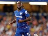 Victor Moses in action for Chelsea on August 7, 2018