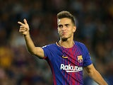 Denis Suarez in action for Barcelona in September 2017