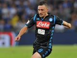 Mario Rui in action for Napoli on September 2, 2018
