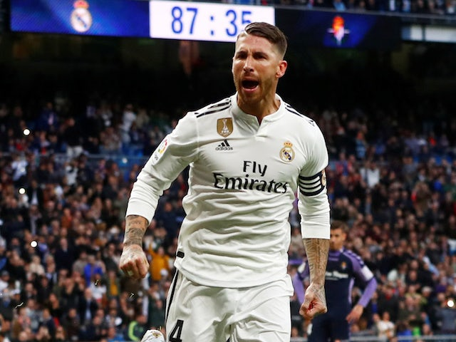 Ramos 'earns one Euro more than Bale'