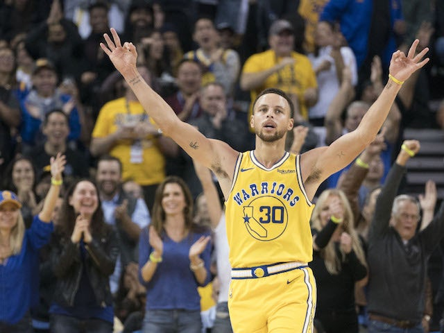 Record-breaker Stephen Curry's season so far for the Golden State Warriors
