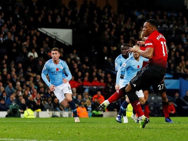 Mourinho wants Man United to draw Man City