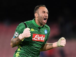 Ospina given all clear after collapsing during Napoli's clash with Udinese