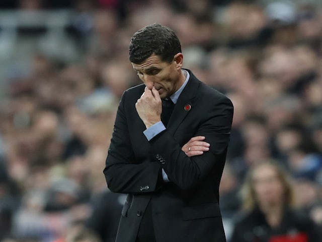 Javi Gracia in charge of Watford on November 3, 2018