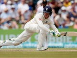 Keaton Jennings in action for England against South Africa on November 8, 2018