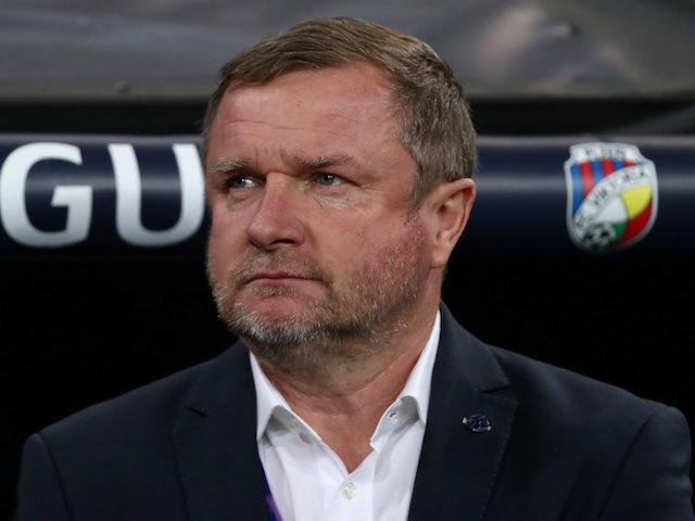 Viktoria Plzen coach Pavel Vrba pictured on October 23, 2018