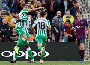 bdfce410e Live Commentary: Barcelona 3-4 Real Betis - as it happened - Sports Mole
