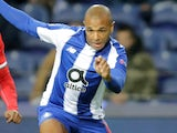 Yacine Brahimi in action for Porto on November 6, 2018