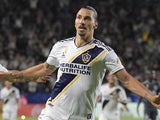 Zlatan Ibrahimovic in action for LA Galaxy on September 30, 2018