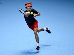 Zverev beats Isner to set up ATP Finals semi against Federer