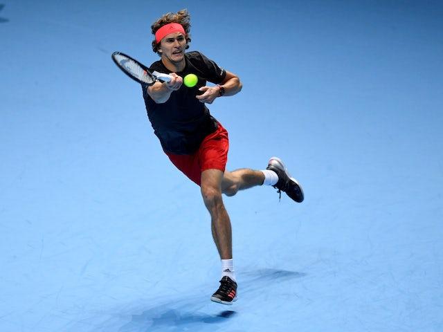Result: Zverev beats Isner to set up ATP Finals semi against Federer