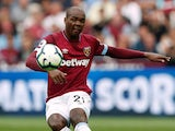 Angelo Ogbonna in action for West Ham United on August 18, 2018