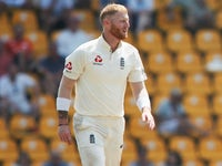Ben Stokes in action for England against South Africa on November 15, 2018