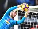 David de Gea in action for Manchester United on November 3, 2018