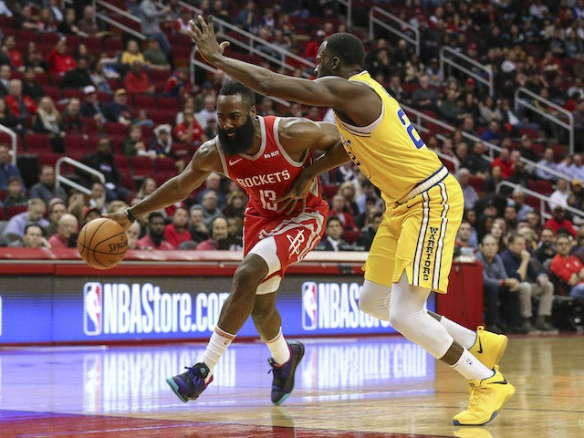 Result: James Harden leads Houston Rockets home