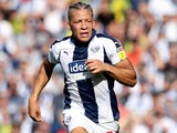 Dwight Gayle in action for West Bromwich Albion on September 1, 2018