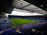 General view inside Everton's Goodison Park on November 3, 2018