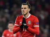 Gareth Bale in action for Wales on November 16, 2018