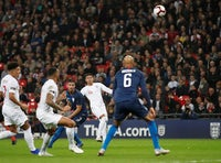 Jesse Lingard scores for England against USA at Wembley