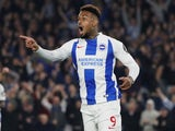 Jurgen Locadia in action for Brighton & Hove Albion on October 5, 2018