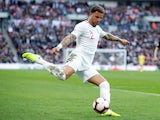 Kyle Walker in action during the Nations League group game between England and Croatia on November 18, 2018