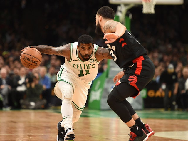 Result: Kyrie Irving carries Boston Celtics to victory
