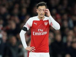 Mesut Ozil in action for Arsenal on November 3, 2018